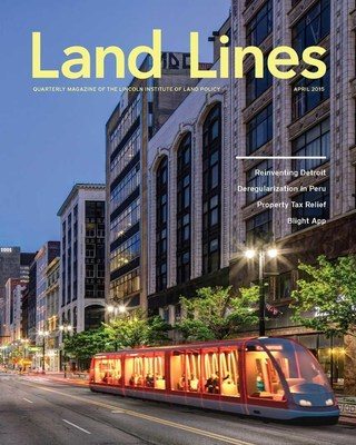 The Lincoln Institute of Land Policy has redesigned its quarterly journal, Land Lines