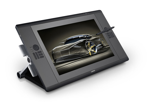 Wacom's Cintiq 24HD delivers a spacious 24-inch widescreen display with brilliant color and breakthrough ...