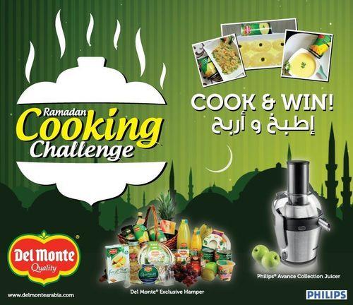 Del Monte Ramadan Cooking Challenge Is Back! (PRNewsFoto/Del Monte Foods _UAE_)
