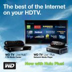 WD® Brings Current-Season On-Demand TV and Acclaimed Movies to Its WD TV® Media Player Family With Hulu Plus™