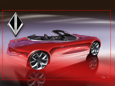 VL's concept Destino with Katzkin interior launches in Detroit www.katzkin.com