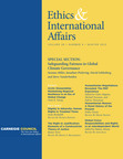 Ethics & International Affairs Winter Issue.  (PRNewsFoto/Carnegie Council for Ethics in International Affairs)