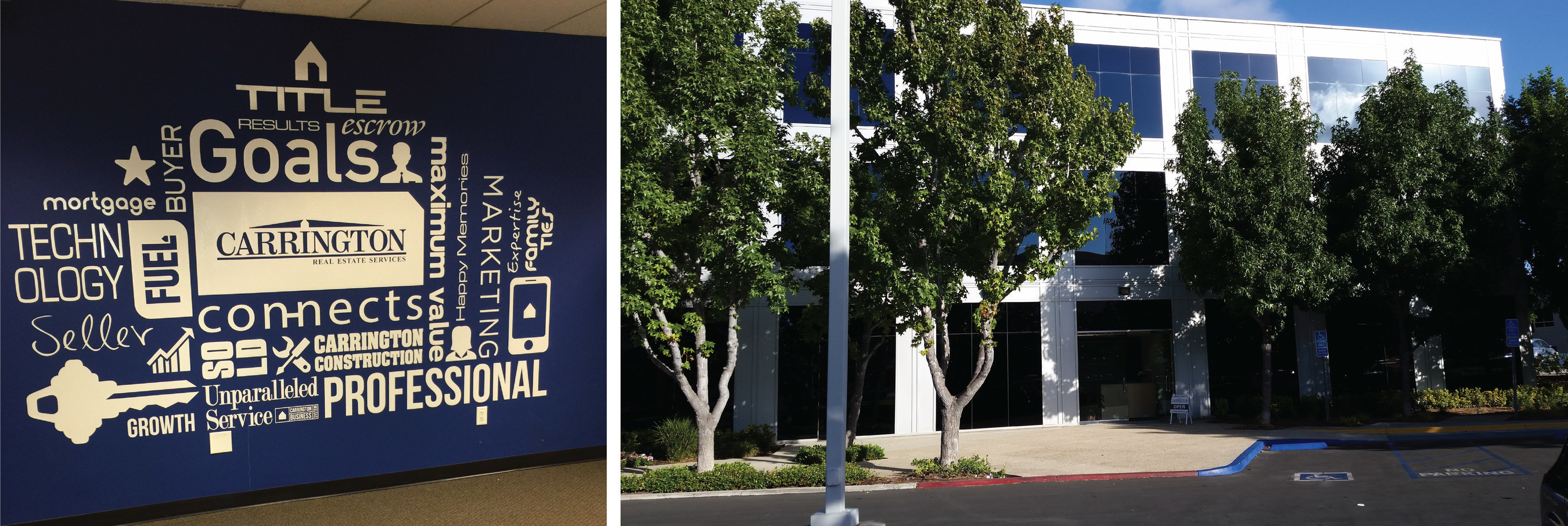 Carrington Real Estate Services' new Irvine office located at 111 Pacifica, Suite 160