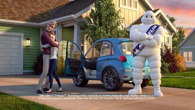 Michelin Introduces Television Campaign Highlighting Its Newest Tire Safety Innovation