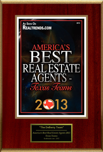 "Roxanne DeBerry Selected For ""America's Best Real Estate Agents 2013 - Texas Teams"". (PRNewsFoto/American Registry) (PRNewsFoto/AMERICAN REGISTRY)"