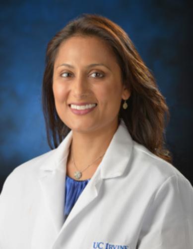 Shalini Shah MD, director of pediatric pain management at UC Irvine (PRNewsFoto/UC Irvine Health Department)