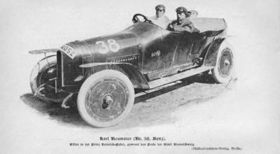 A Restored Legend: 1910 Mercedes-Benz Prinz Heinrich Makes Stateside Appearance.  (PRNewsFoto/Mercedes-Benz USA)