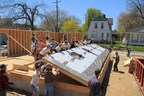 CNH Industrial employees in NAFTA volunteer to help build homes with Habitat for Humanity