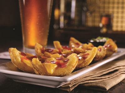 "TGI Fridays Loaded Potato Skins, one of the choices for ""Endless Appetizers for $10."" (PRNewsFoto/TGI Fridays)"