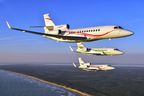 Falcon 2000S, 900LX, 7X to Highlight Dassault's EBACE Display as Company Marks 50th Anniversary
