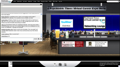 UBM Medica's Psychiatric Times Virtual Career Expo Offers Job Opportunities and Career Development