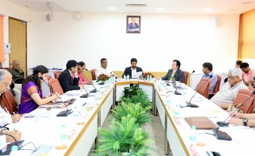 Participants of the Roundtable discussion on 'Piracy and its Impact on the Film Industry' at O.P. Jindal Global University (PRNewsFoto/O.P. Jindal Global University)