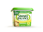 Smart Balance, the innovator of heart healthier buttery spreads, is transitioning its line of flagship butter spreads to non-GMO. Smart Balance, a Boulder Brands company, is the first leading spread to make the transition to non-GMO. The new product will be available at retail stores nationwide by early summer. Smart Balance was the first spread to eliminate partially hydrogenated oils, a major source of trans fat.  (PRNewsFoto/Smart Balance)