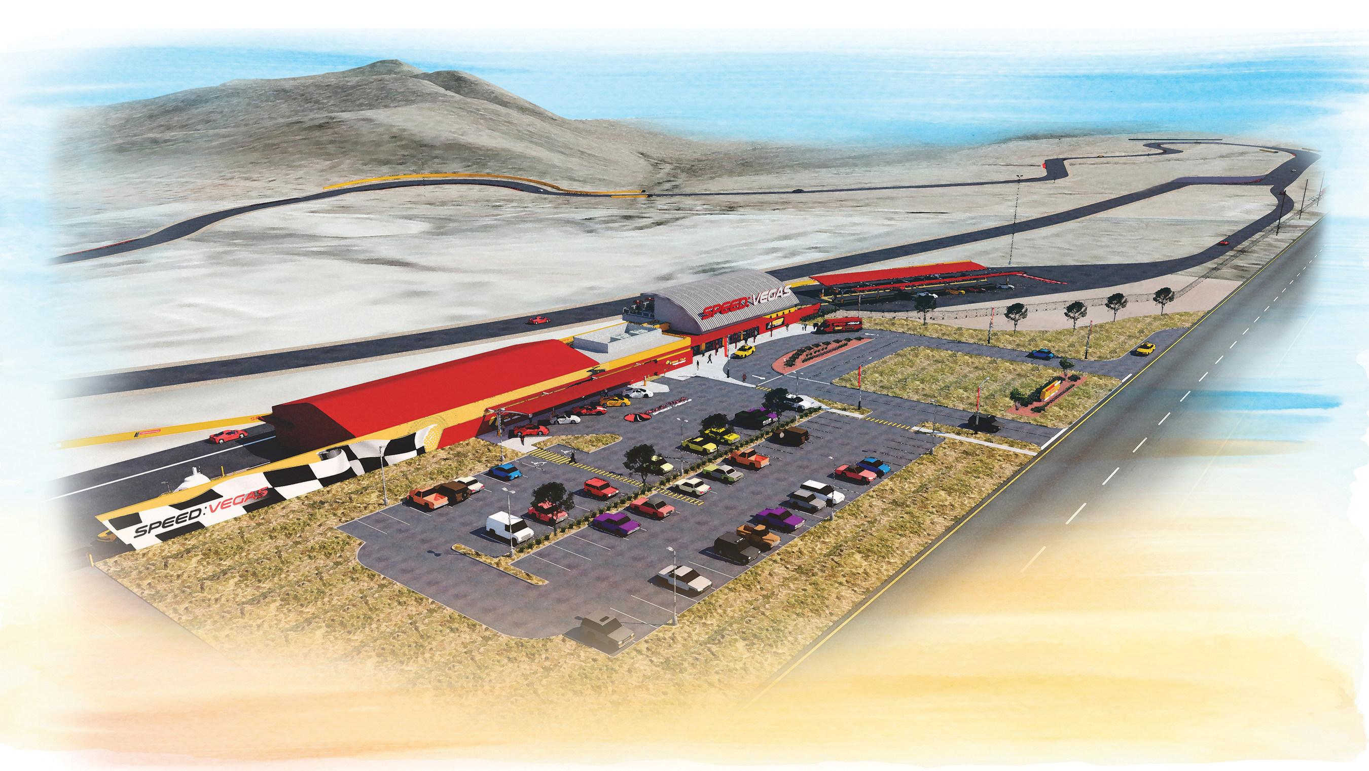 100 acres du South Las Vegas Blvd. seront transformées en SPEEDVEGAS, la toute nouvelle expérience