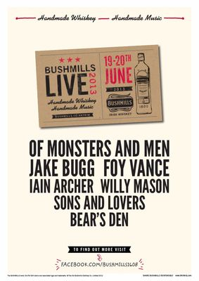 Jake Bugg to Join the Bill for Bushmills Live 2013