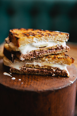 In honor of National S'mores Day, Bernzomatic partnered with open-fire cooking expert Chef Cory Morris to create one-of-a-kind gourmet recipes. Marshmallow fluff, melted chocolate, bananas and sourdough bread make this S'mores Panini a delectable, mouth-watering treat, all made by grilling over a camp stove.