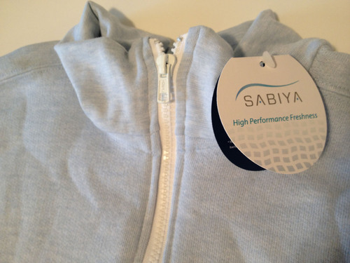 Sabiya brand of freshness fabrics uses a proprietary integration technology to inhibit the growth of destructive and odor-causing bacteria, mold, mildew and fungus.  (PRNewsFoto/PurThread Technologies)