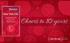 Michelin To Celebrate 10th Edition Of The New York City MICHELIN Guide (PRNewsFoto/Michelin)