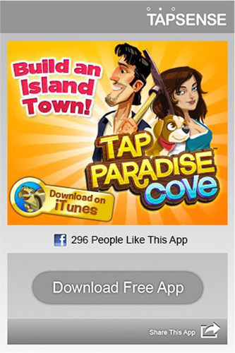 TapSense Launches iPhone5 / iOS6 Ad Format to Improve In-App Advertising User Experience