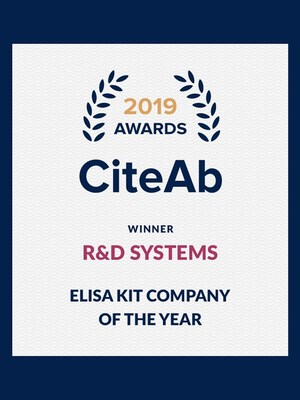 RnD Systems CiteAb Award