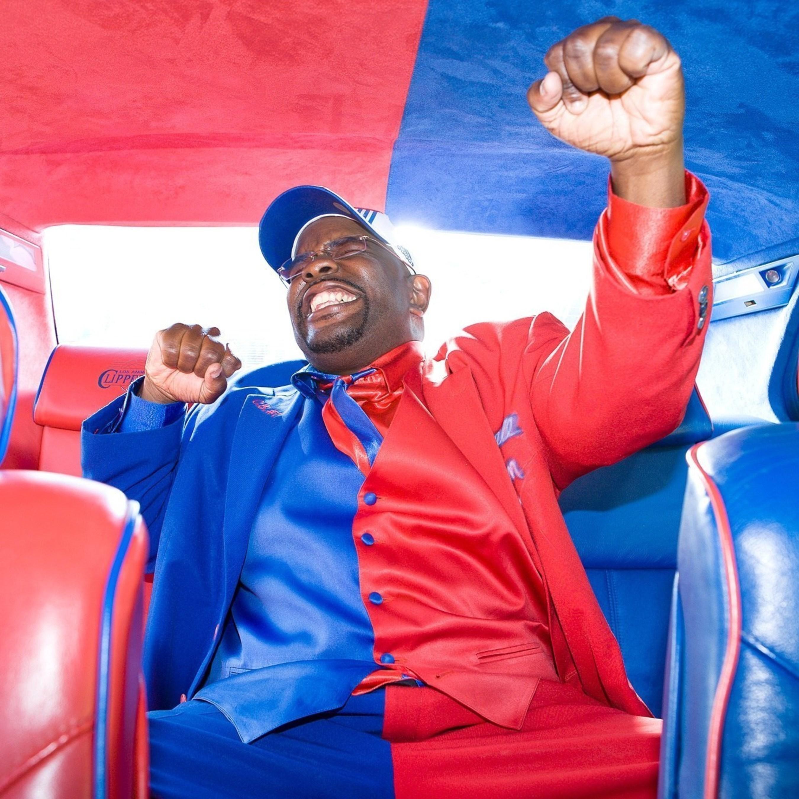 #1 Los Angeles Clippers Super Fan - Clipper Darrell.
