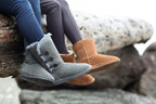 Women's PIKA Teya Button Mid in Grey (L) and and Women's PIKA Classic Short in Chestnut (R)