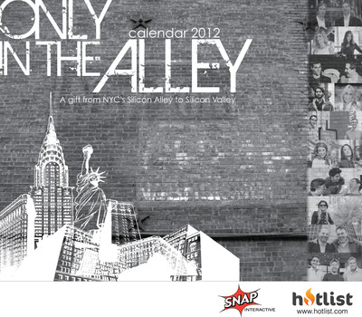 "HOTLIST AND SNAP INTERACTIVE RELEASE ""ONLY IN THE ALLEY: A GIFT TO SILICON VALLEY.""  (PRNewsFoto/SNAP Interactive, Inc./ Hotlist Media)"
