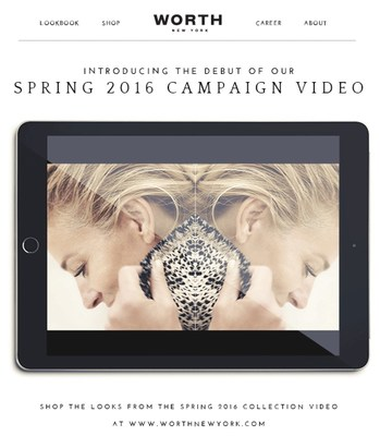A break away from print with a debut digital campaign.