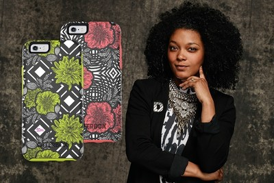 'Green Diamond' and 'Pink Swirl' Symmetry Series cases are available now for iPhone 6/6s, iPhone 6 Plus/6s Plus and GALAXY S7. The cases were designed in collaboration with Philadelphia-based designer and Project Runway All Stars contestant Dom Streater.