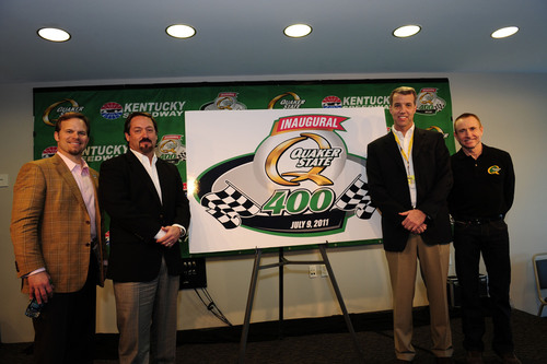 Quaker State to Sponsor Inaugural Kentucky Speedway Sprint Cup Series Race