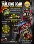 Stern Pinball Announces Immediate Availability of Custom Accessories For The Walking Dead Pinball Machine