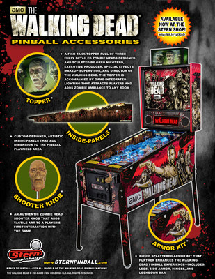 The Walking Dead Pinball Accessories