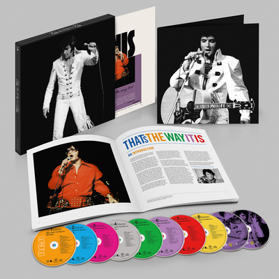"Elvis Presley ""That's The Way It Is (Deluxe Edition)"" available Tuesday, August 5, 2014 (PRNewsFoto/Legacy Recordings)"