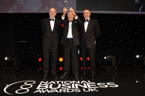 2013 International Growth Business of the Year winner – Oliver Valves (PRNewsFoto/National Business Awards)