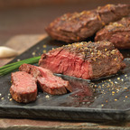 "Omaha Steaks Rib Crown Steak, known for flavor and tenderness, is considered the ""crown jewel"" of the  Ribeye.  (PRNewsFoto/Omaha Steaks)"