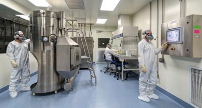 Pharmatek's GMP spray drying operation.