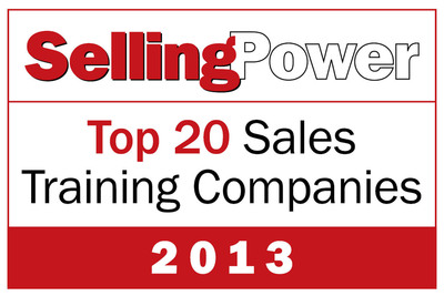 Richardson Named to 2013 Selling Power Top 20 Sales Training Companies List.  (PRNewsFoto/Richardson)