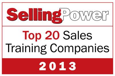 Richardson Named to 2013 Selling Power Top 20 Sales Training Companies List.  (PRNewsFoto/Richardson)