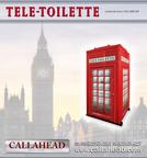 Tele-Toilette Portable Toilet by CALLAHEAD CORP.  (PRNewsFoto/CALLAHEAD Corporation)