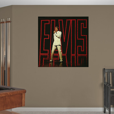 Fathead Creates Elvis Presley Collection of Exclusive Wall Decals - Each Image Created From Iconic Elvis Presley Photographs.  (PRNewsFoto/Fathead LLC)