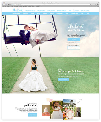 "The Knot, the #1 online wedding resource, announced a mobile-first site relaunch for TheKnot.com. With all-new, personalized dashboard called ""My Knot,"" couples can access an automatic feed of relevant content, tools and solutions based on their stage in the wedding process and tailored to their wedding date, location, style and color."
