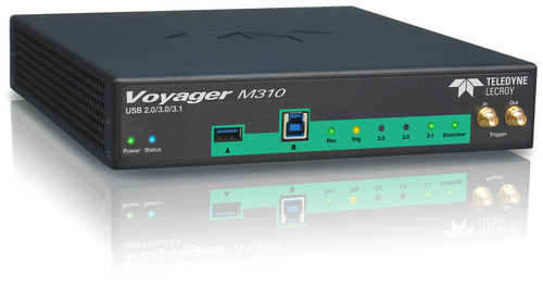 The Teledyne LeCroy Voyager M310 is a comprehensive protocol analyzer exerciser platform for testing next generation SuperSpeed USB 10 Gbps (USB 3.1) systems. (PRNewsFoto/Teledyne LeCroy) (PRNewsFoto/TELEDYNE LECROY)