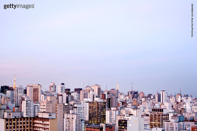 Sao Paulo Skyline.  (PRNewsFoto/Getty Images)