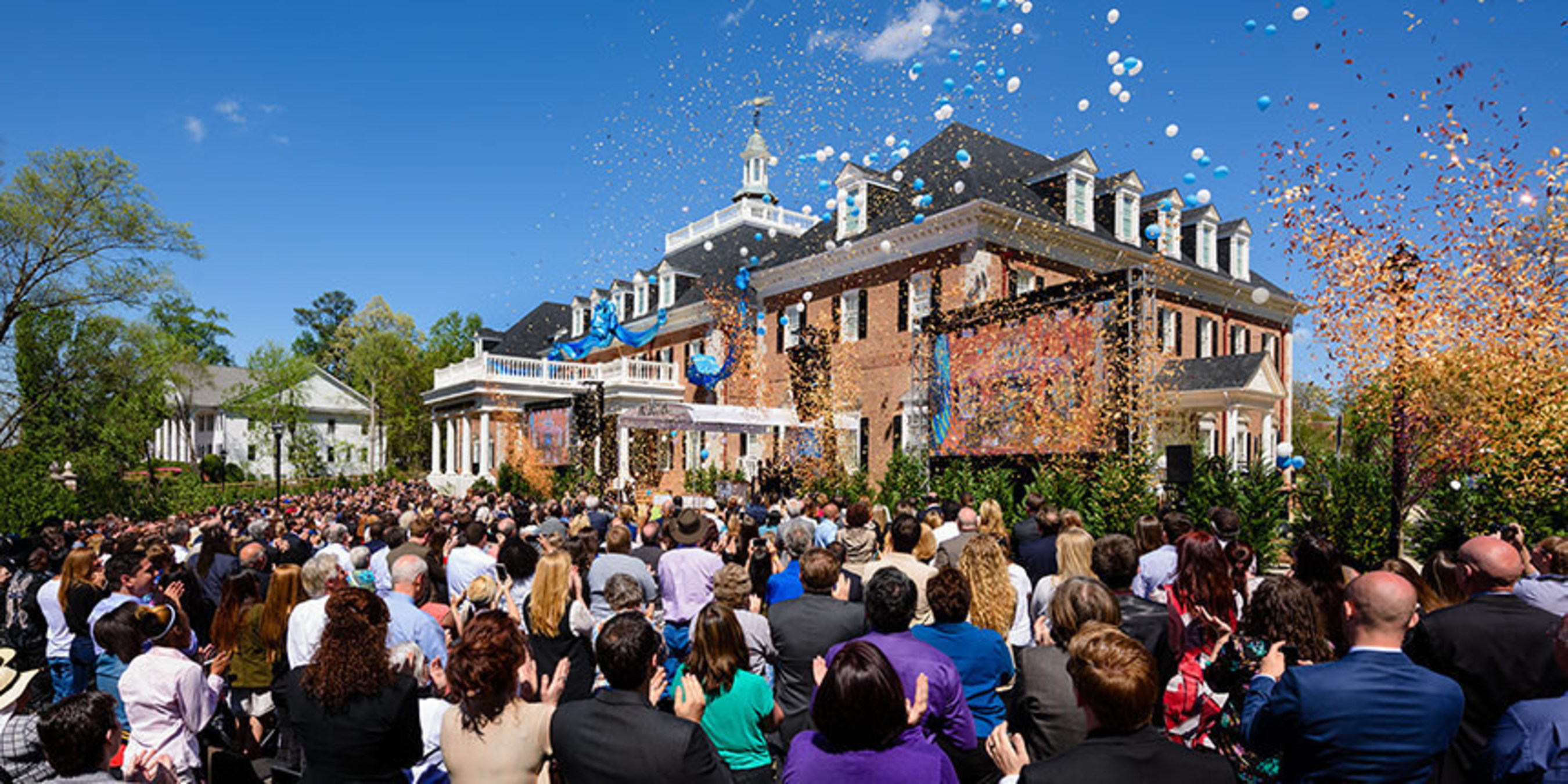 Georgias scientology church opens on bright shiny day for spirit of this is scientology for a new american south said david miscavige the ecclesiastical leader of scientology and the chairman of the board of the malvernweather Choice Image