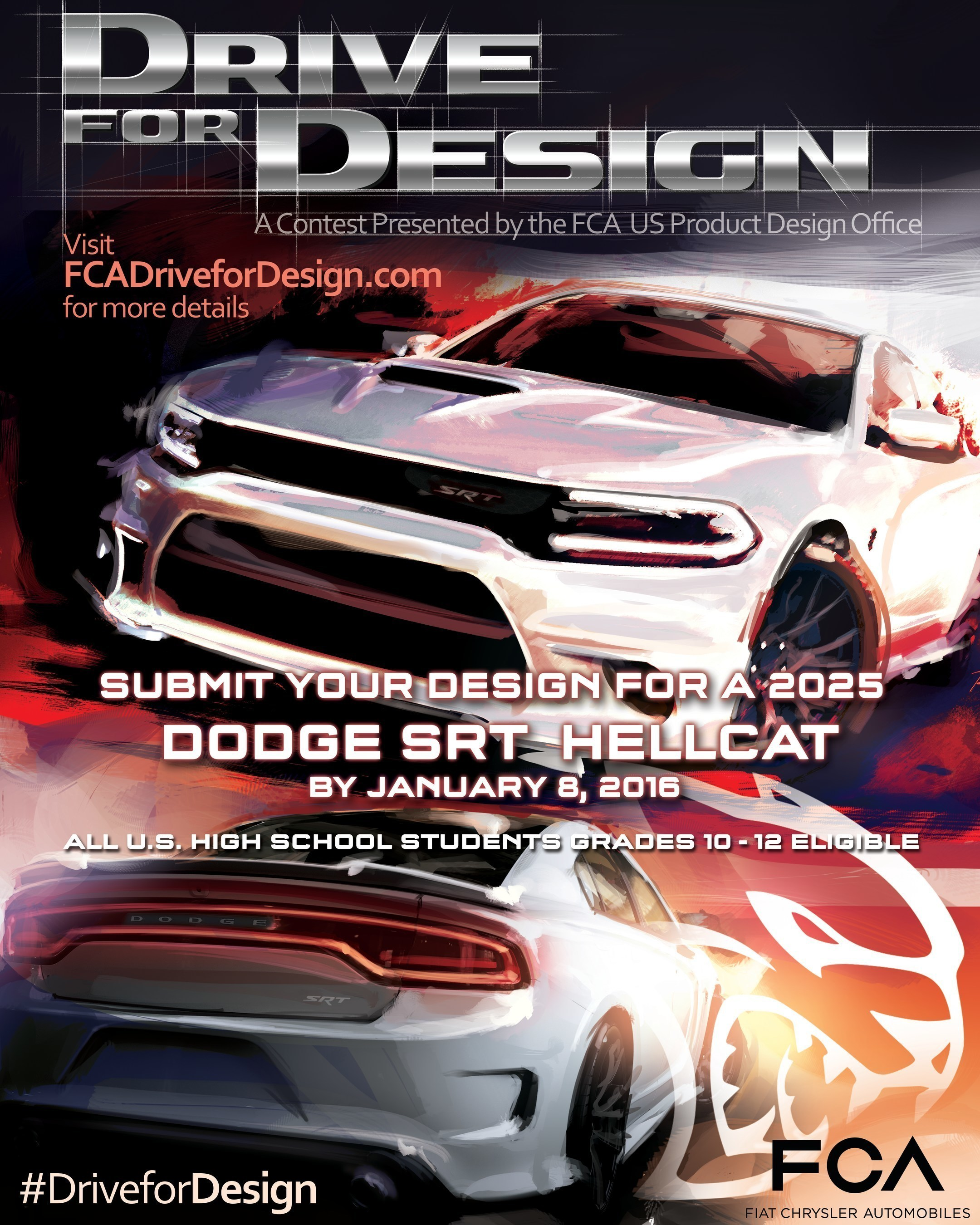 Returning for the fourth consecutive year, the 2016 Drive for Design contest challenges all U.S. high school ...