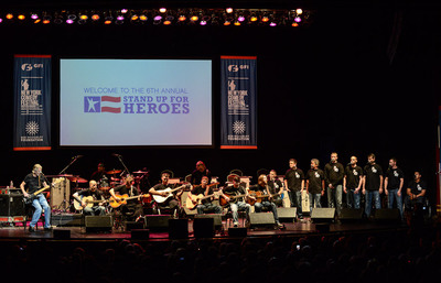 The Bob Woodruff Foundation Raises More Than $3 Million To Help Injured Troops And Their Families At Sixth Annual Stand Up For Heroes Benefit - and Now Joins The #GivingTuesday Initiative