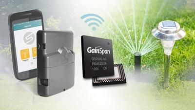 Solem selects GainSpan Wi-Fi for irrigation controller. (PRNewsFoto/GainSpan Corporation) (PRNewsFoto/GAINSPAN CORPORATION)