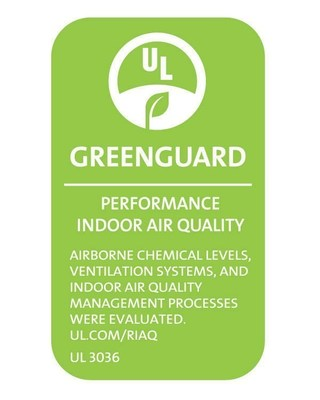 GREENGUARD Certification for Homes mark