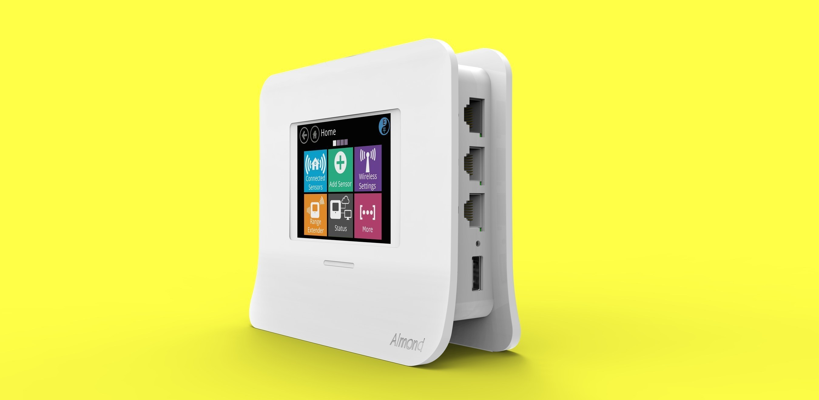 Securifi Introduces Almond 3 - The Most Robust Touchscreen Wireless Router and Smart Home Hub To Hit the Market