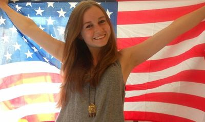 PAX foreign exchange student from Germany enjoying the her new American culture. (PRNewsFoto/PAX)
